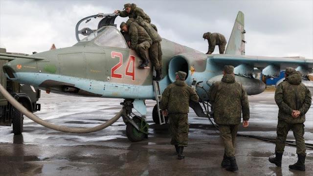 """""""Mueren 112 militares rusos en lucha antiterrorista en Siria"""""""