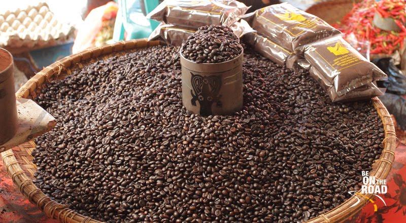 The aromatic and famous Tana Toraja Coffee, Indonesia