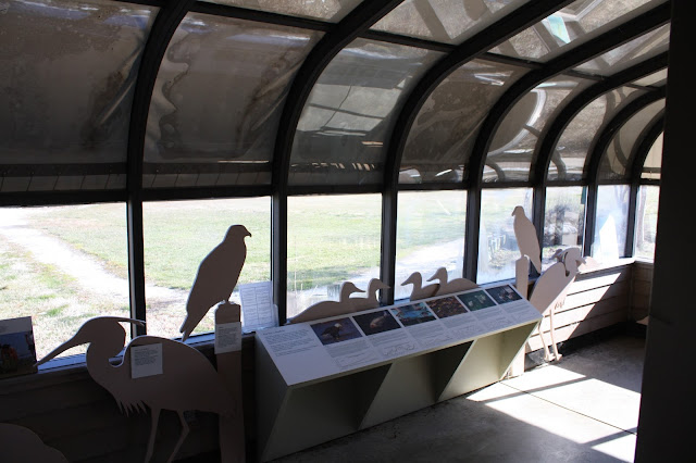 Viewing location for birds at Chesapeake Heritage and Visitor Center in Kent Narrows, Maryland