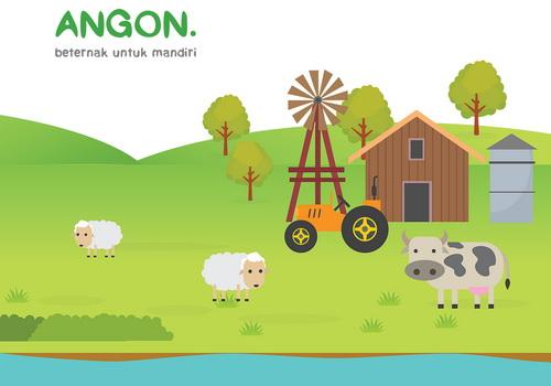 Tinuku Angon.id presents cattle and goat farms via smartphone