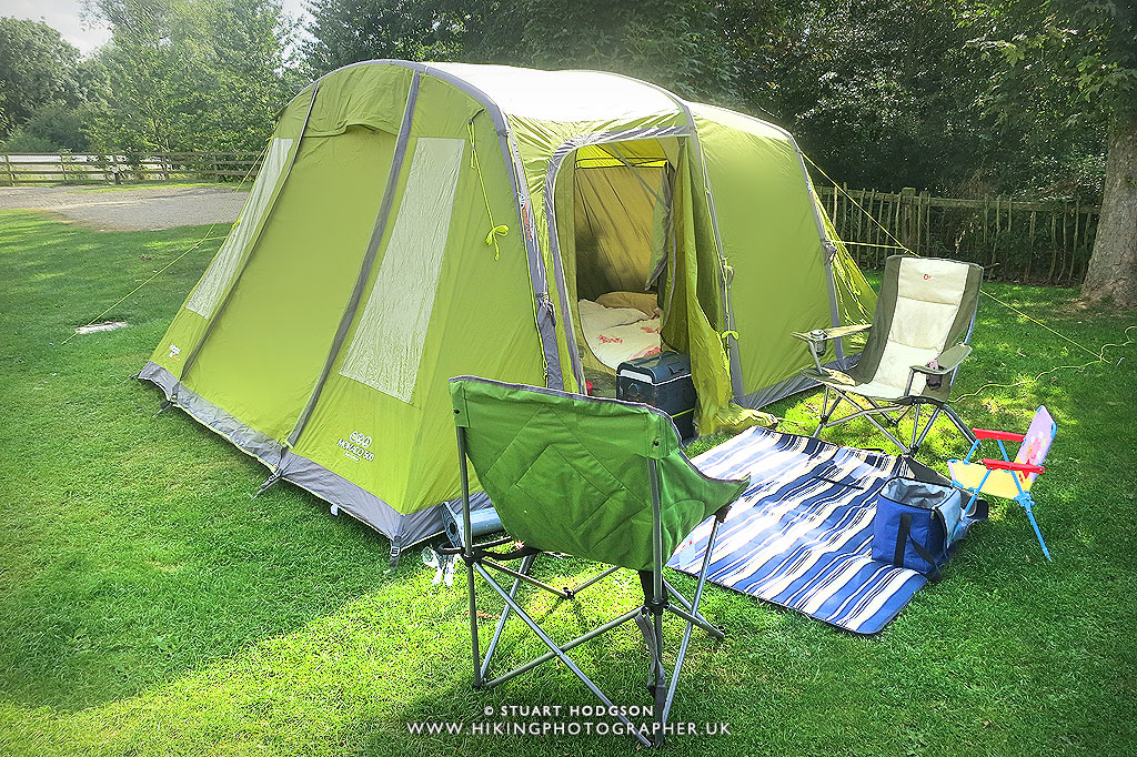 The Vango Monaco 500 tent with Airbeams/ inflatable poles is the quickest large 5-man tent I have put up and is a revelation for me for making short family ... & Review: Vango Monaco 500 Airbeam 5-man tent | The Hiking Photographer
