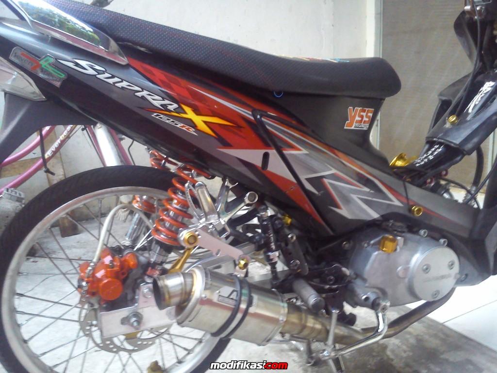 Modifikasi Keren Honda Supra 125