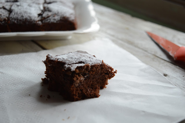 Yogurt Brownies | Eggless Brownies