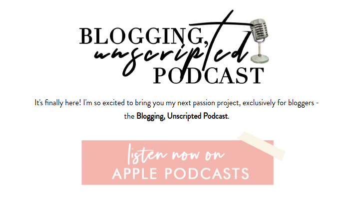New York Blogger Danielle Gervino Blogging, Unscripted Podcast. Advice podcast for bloggers in the blogging industry.
