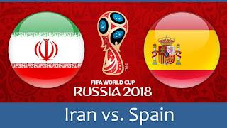 فوز اسبانى بشق الانفس على ايران االقوى ,اهداف مباراة أسبانيا وإيران كأس العالم 2018 الجولة الثانية