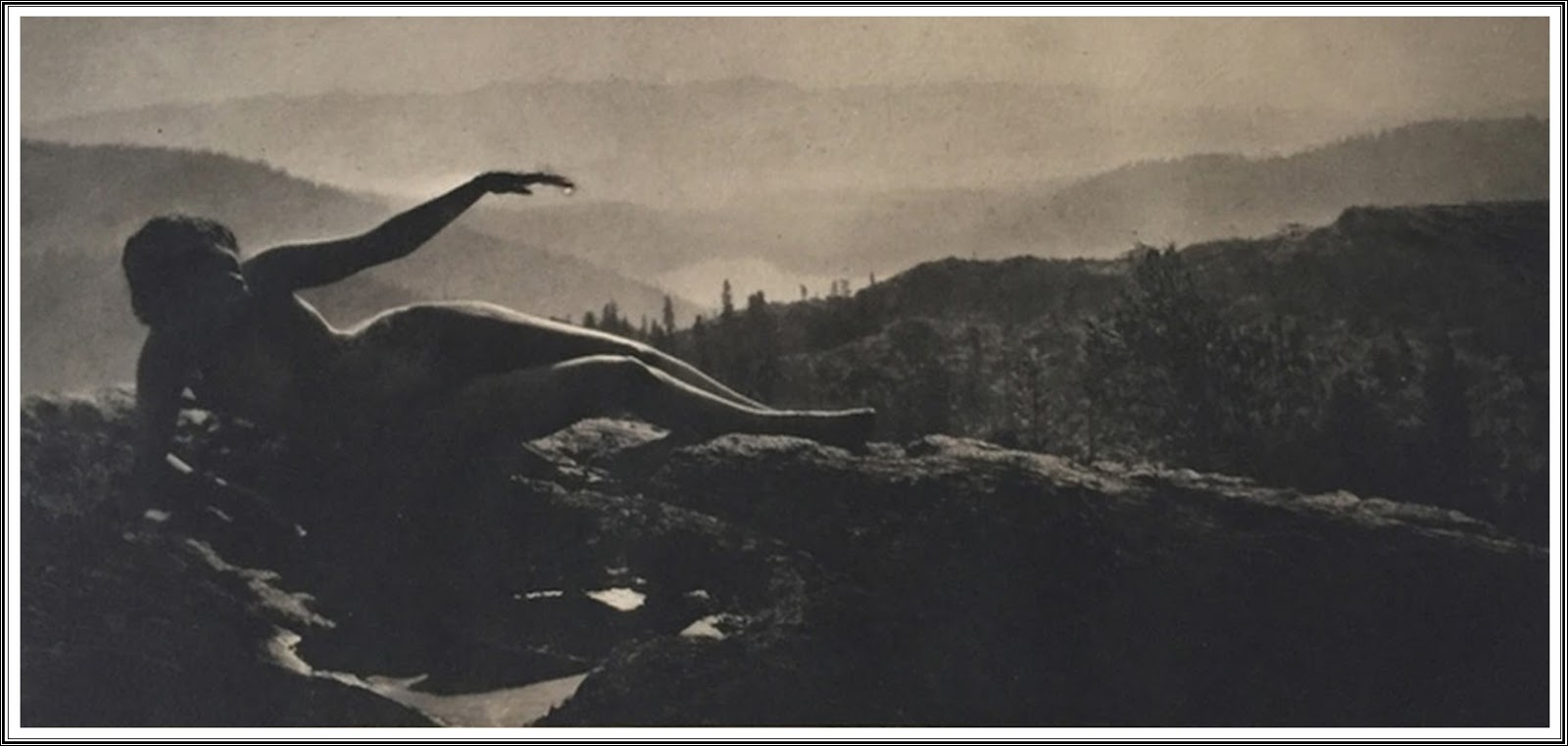 Top Design attraktiv und langlebig Rabattgutschein Le Prince Lointain: Anne W. Brigman (1869-1950), Dawn - 1912