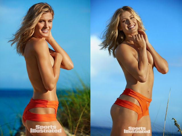 Eugenie Bouchard tanpa bra