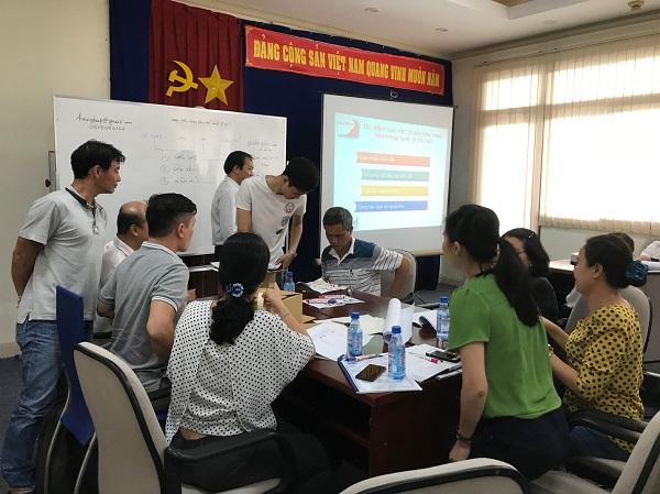 Một giờ lên lớp của Khóa học nghiệp vụ quản lý kho chuyên nghiệp