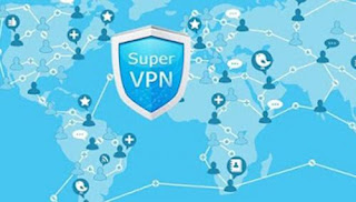 cara internetan gratis dengan aplikasi Super VPN