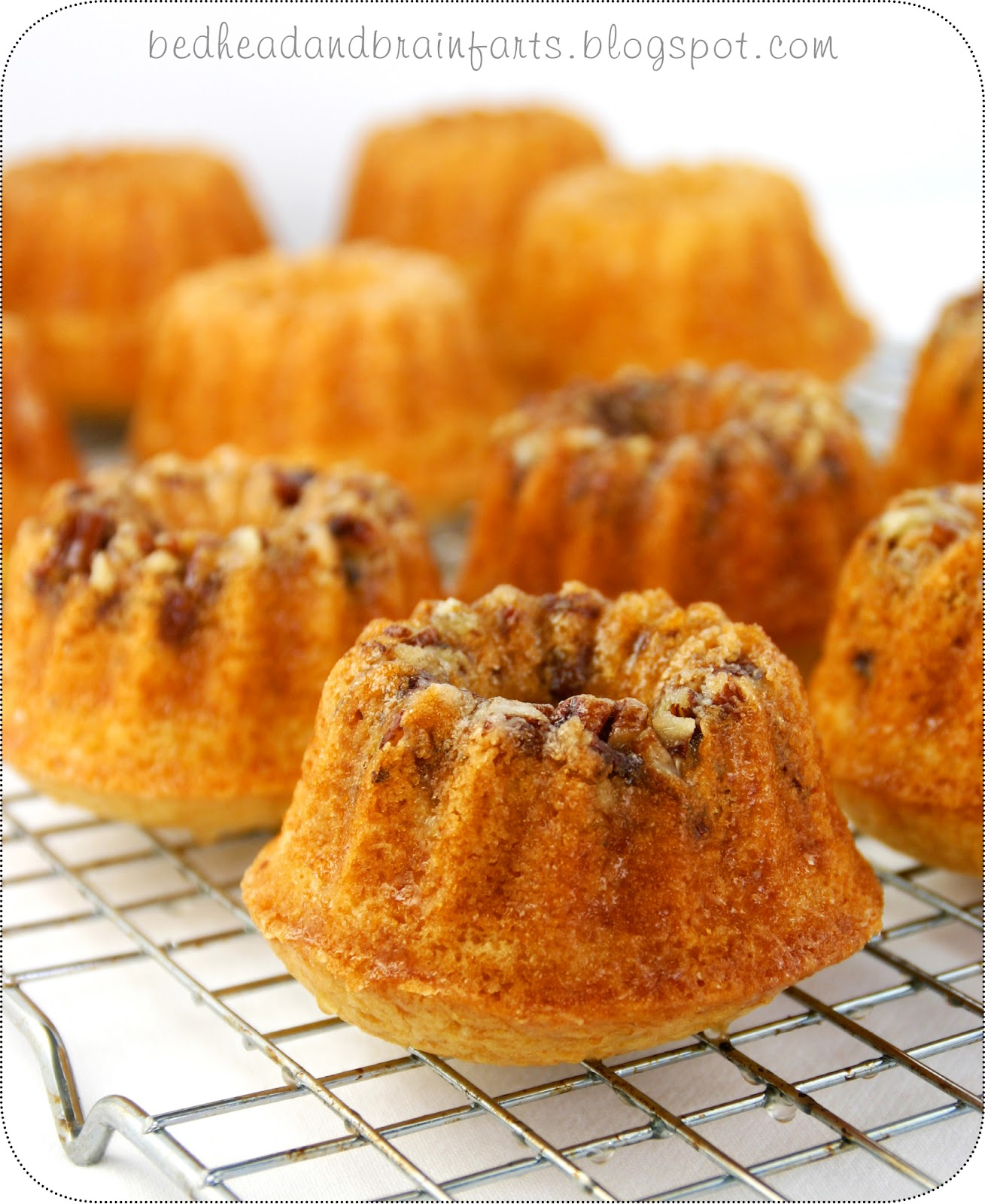 Bedhead And Brainfarts: Gluten-Free Rum Cake...to Die For