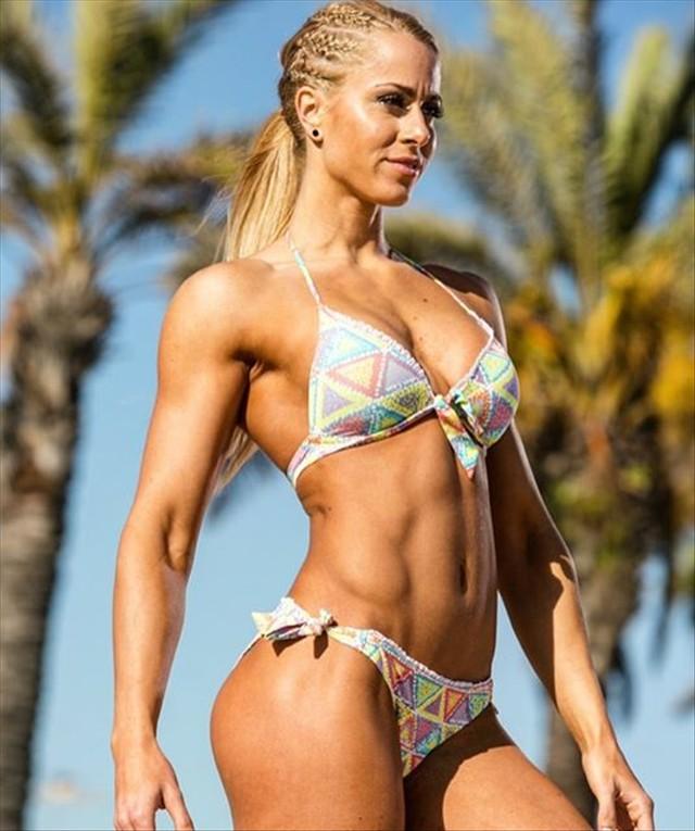 Fitness Model Helga Stibi Instagram photos