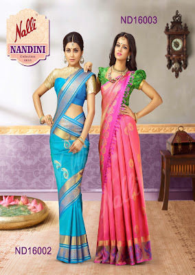 Nalli Latest Silk Sarees