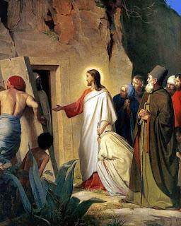 Nomes bíblicos de menino: letra L (Imagem: Ressurreição de Lázaro - Carl Bloch)