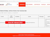 PT Kereta Api Indonesia (Persero) Formasi Petugas Kesehatan Close 05.02.2019