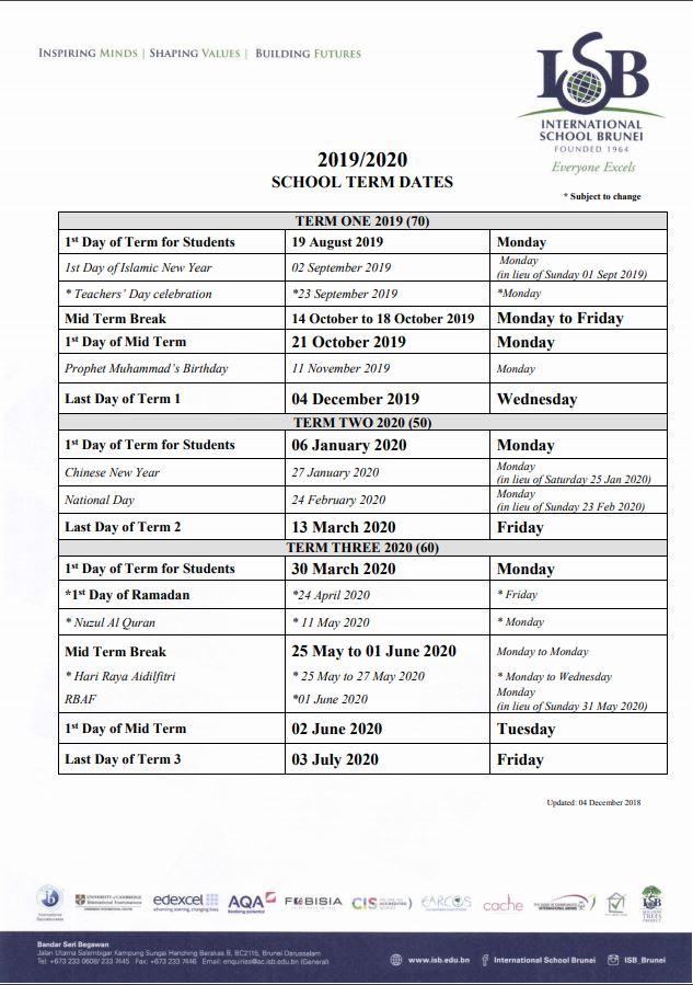Calendario Serie B 2020 13.Brunei Hive August 2019