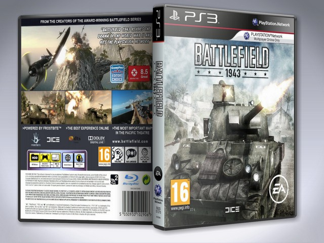 Capa Battlefield 1943 PS3