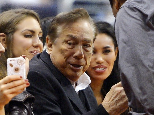 donald sterling los angeles clippers racist banned NBA for life tmz