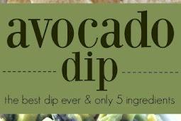 Avocado Dip Salad