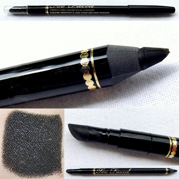 TOO FACED - Perfect Eyes.Black Waterproof Eyeliner.