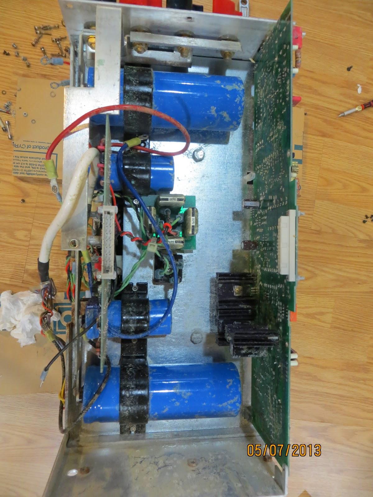 PlayAgainAudio: Restoring Mark Levinson No  331 Power Amp from Water
