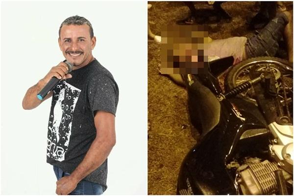 Cantor parnaibano morre vítima de queda de moto em Parnaíba