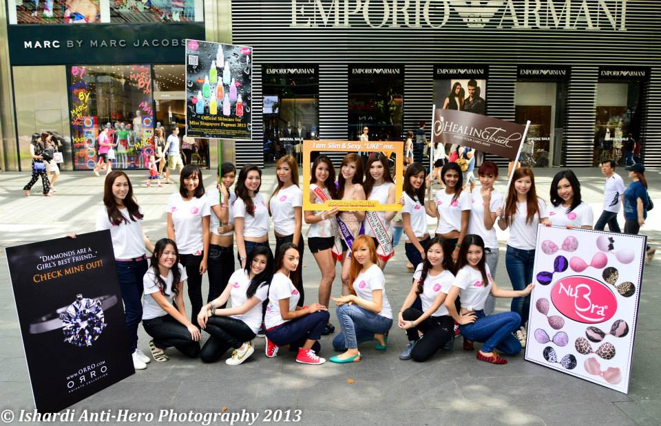 Flo-Lim*: Miss Singapore Beauty Pageant 2013 flashmob