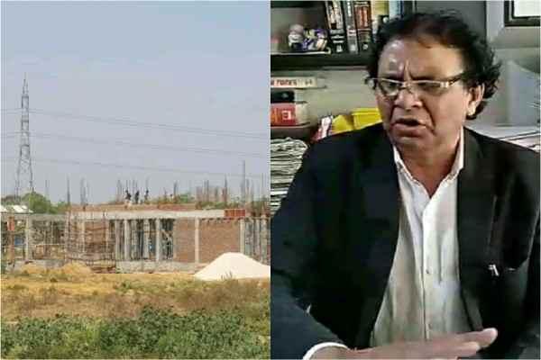 advocate-ln-parashar-visit-faridabad-aravali-show-illegal-construction-news