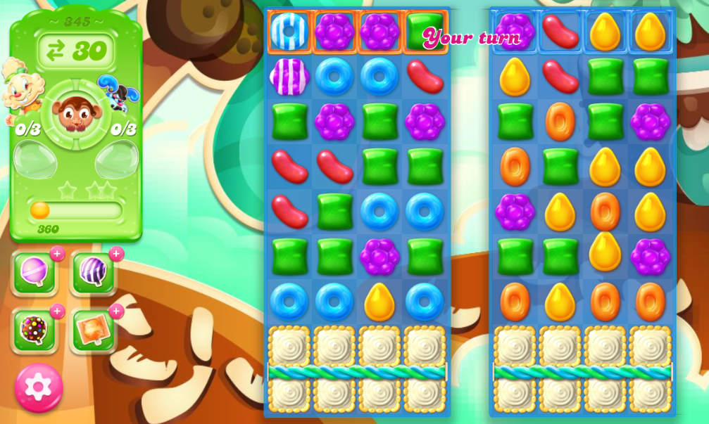 Candy Crush Jelly Saga 345