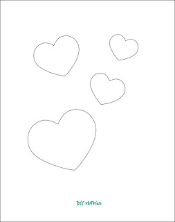 free heart applique design