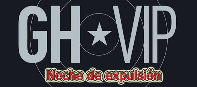 expulsion gh vip jueves 4 octubre