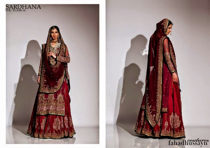 Latest Fahad Hussayn Couture for Bridal