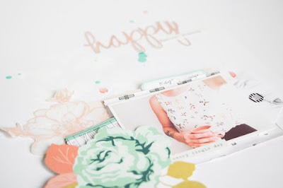 Magical Moments by ScatteredConfetti. // #cratepaper #scrapbooking #heroarts