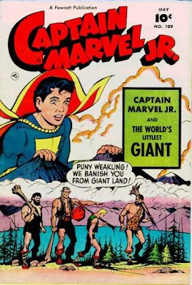 Captain MArvel Jr 109 cover--Littlest Giant