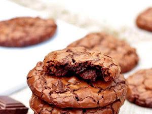 Recette des cookies brownies