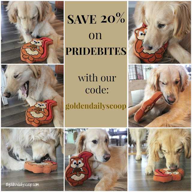 pridebites customized dog products and toys
