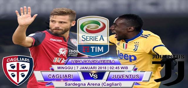 BOLA365 - Prediksi Cagliari vs Juventus 7 Januari 2018
