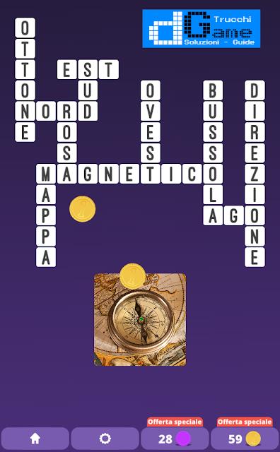 Soluzioni One Clue Crossword livello 7 schemi 1  (Cruciverba illustrato)  | Parole e foto