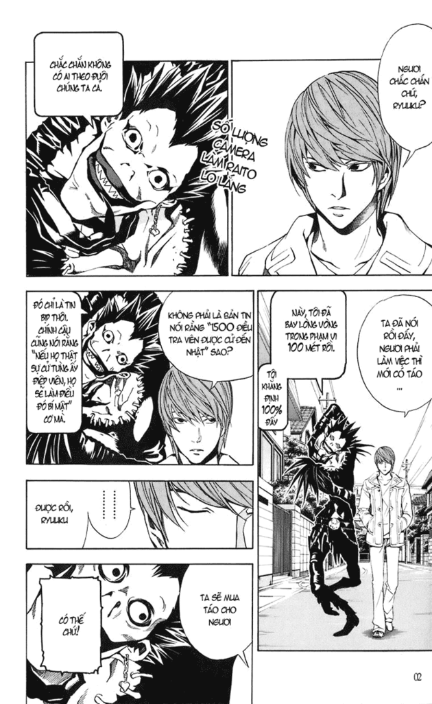 Death Note chapter 018 trang 3