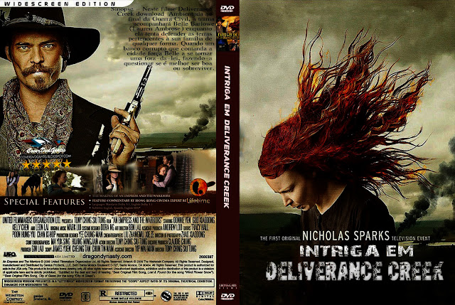 Capa DVD Intriga Em Deliverance Creek
