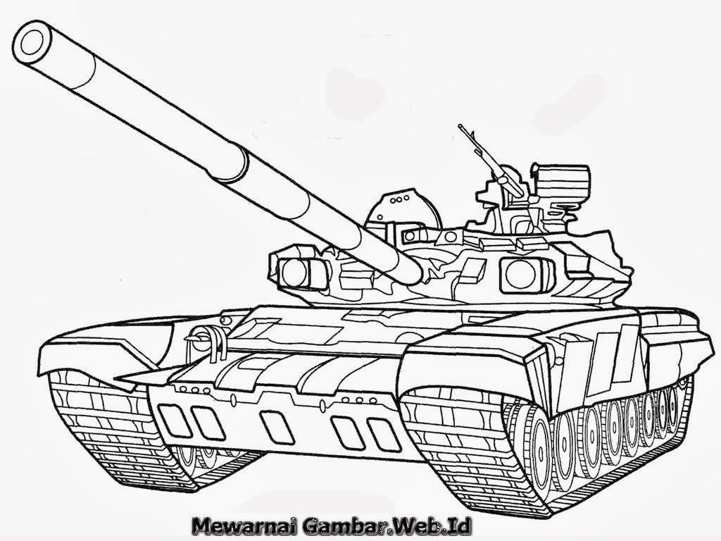 24 Gambar Mobil Tank Kartun Trend Terbaru