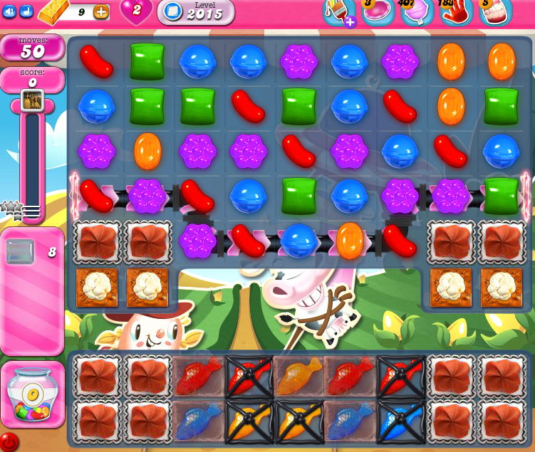 Candy Crush Saga 2015