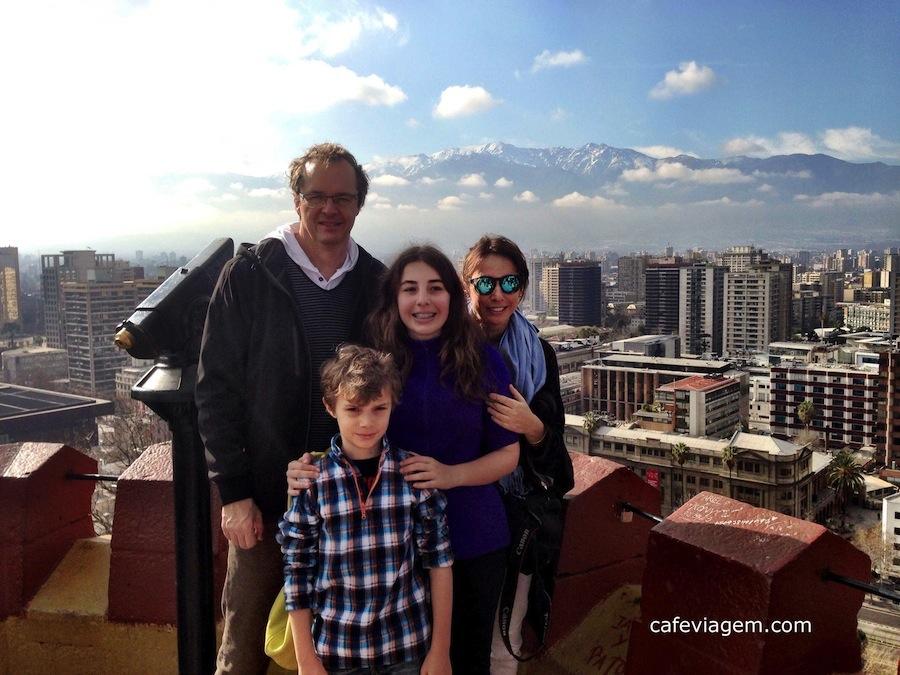 Roteiro Santiago do Chile em família