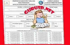 Format Lembar Jawaban Ujian Siswa Excel Multi Mata Pelajaran