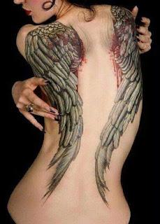 tattoo de alas