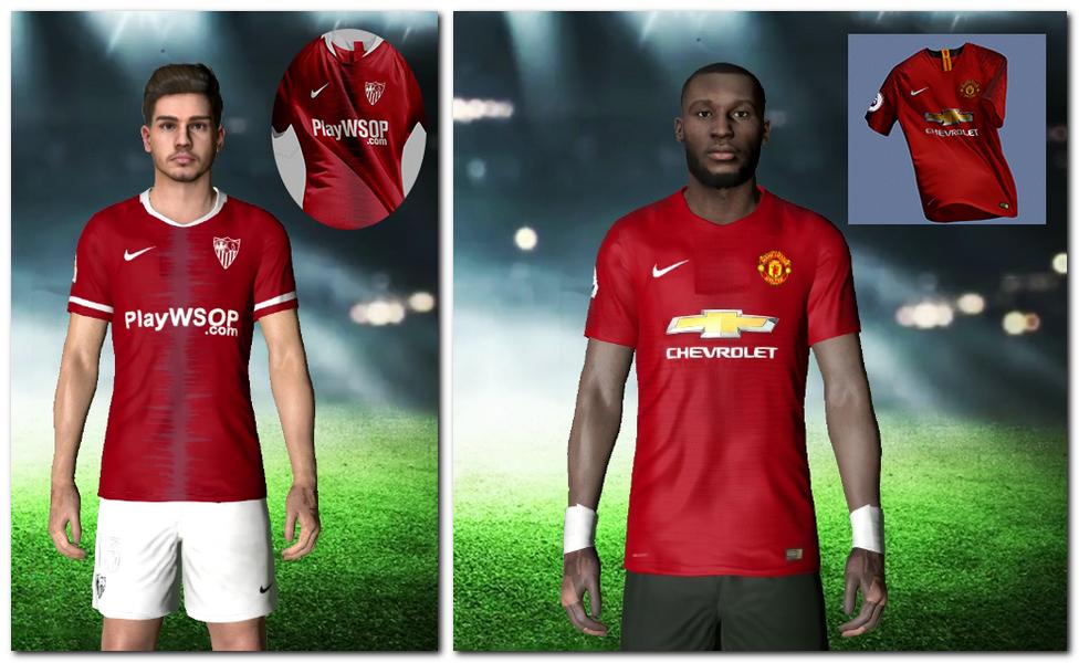 PES2017 Man United & Sevilla Kit Fantasy By Yousef 74