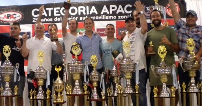 La fiesta de APAC, T.C. del Sudeste y el Turismo Sport