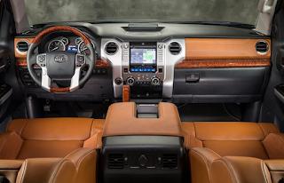 2018 Toyota Tundra Interior Concept