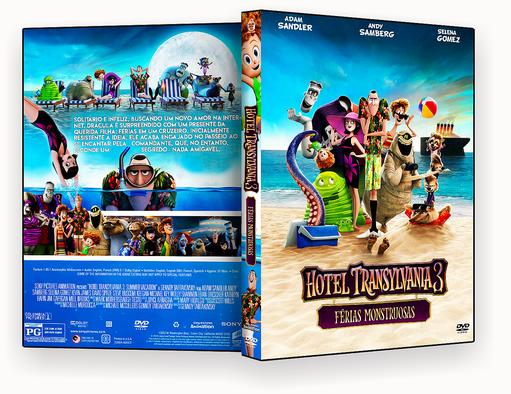 DVD – Hotel Transilvânia 3 Férias Monstruosas TS AUTORADO