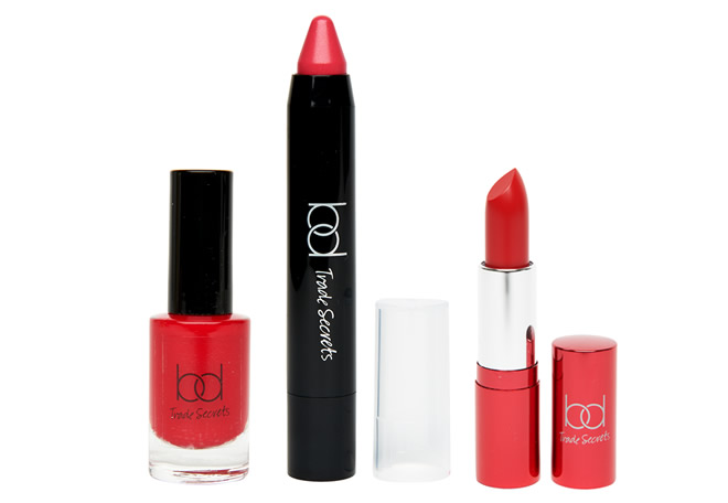 BD Trade Secrets Nail Polish in Red Alert