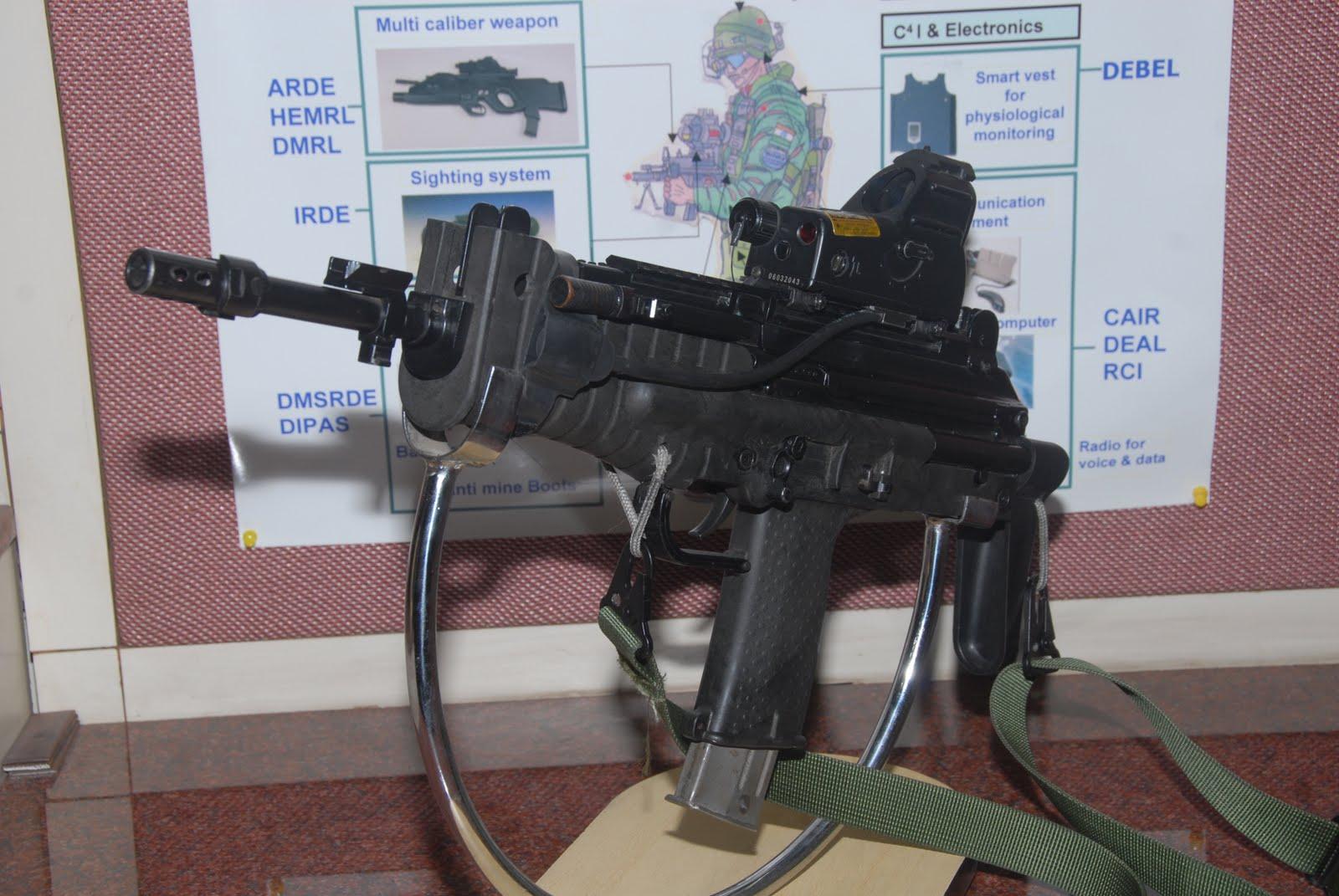 Caution India Drdos New Light Machine Gun